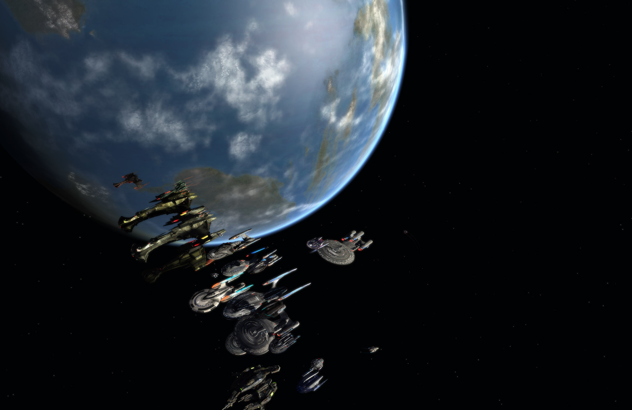 UFP lines up a fleet of ships!