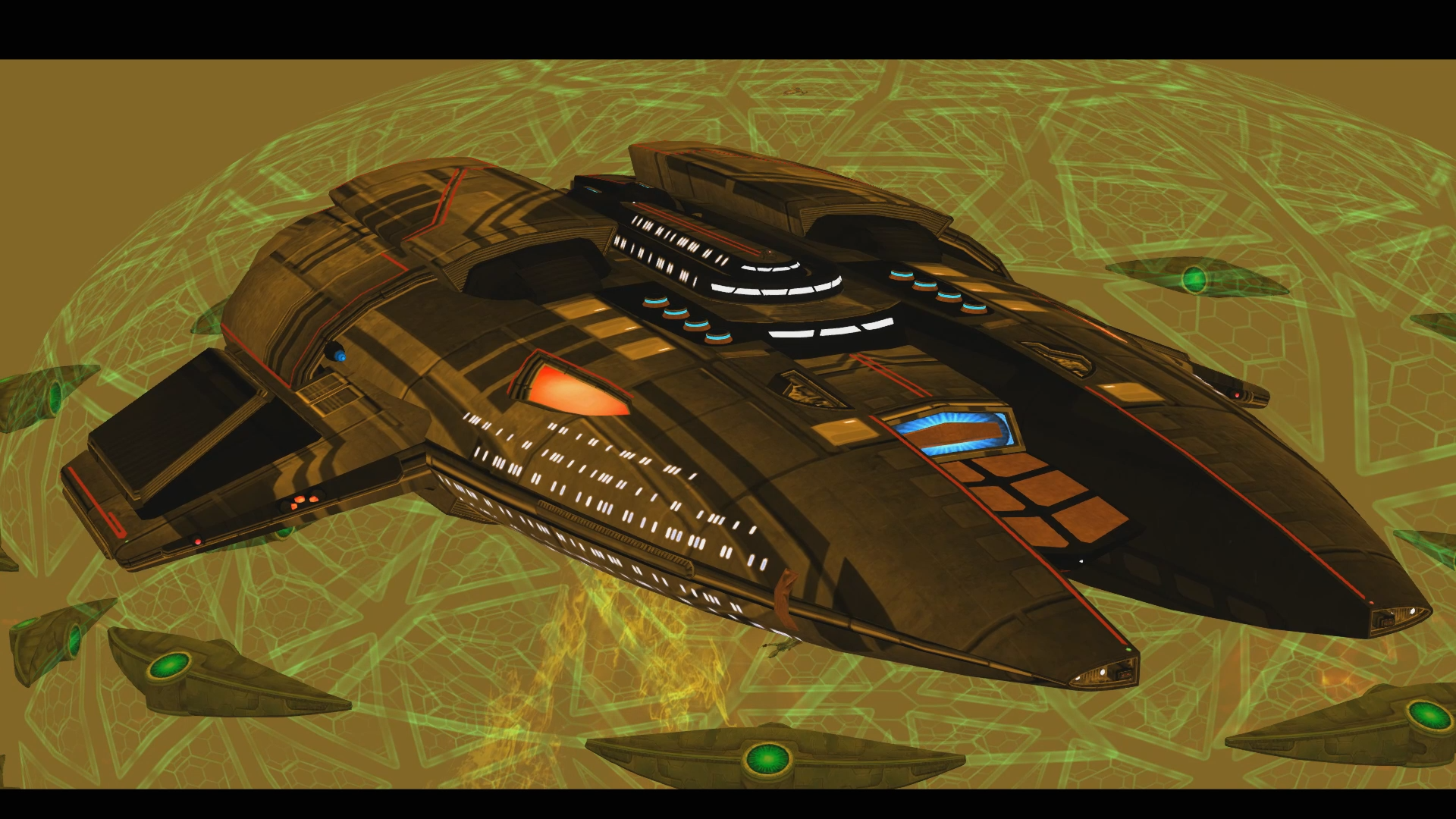 U.S.S. Firefly in Badlands Battlezone