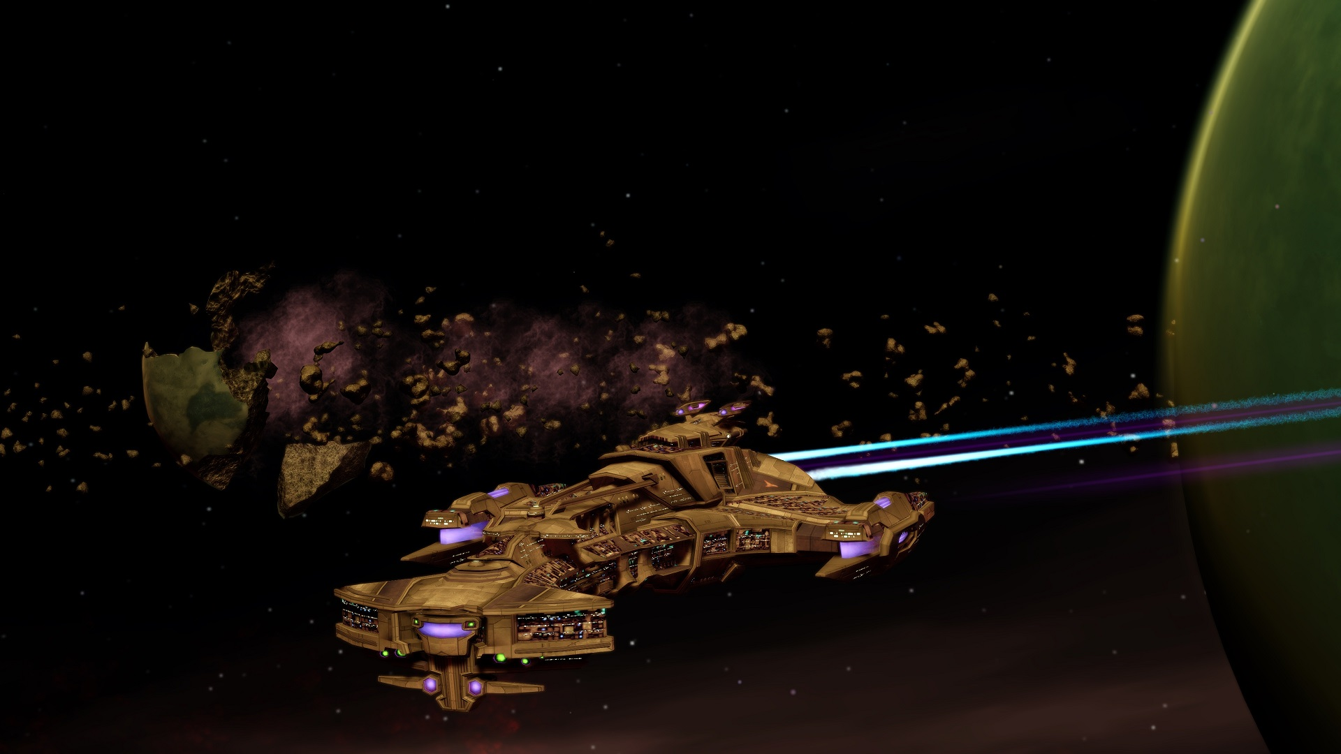 I.K.S. Laughing Dragon at Konos by jdciollins 12th Legacy Fleet 2