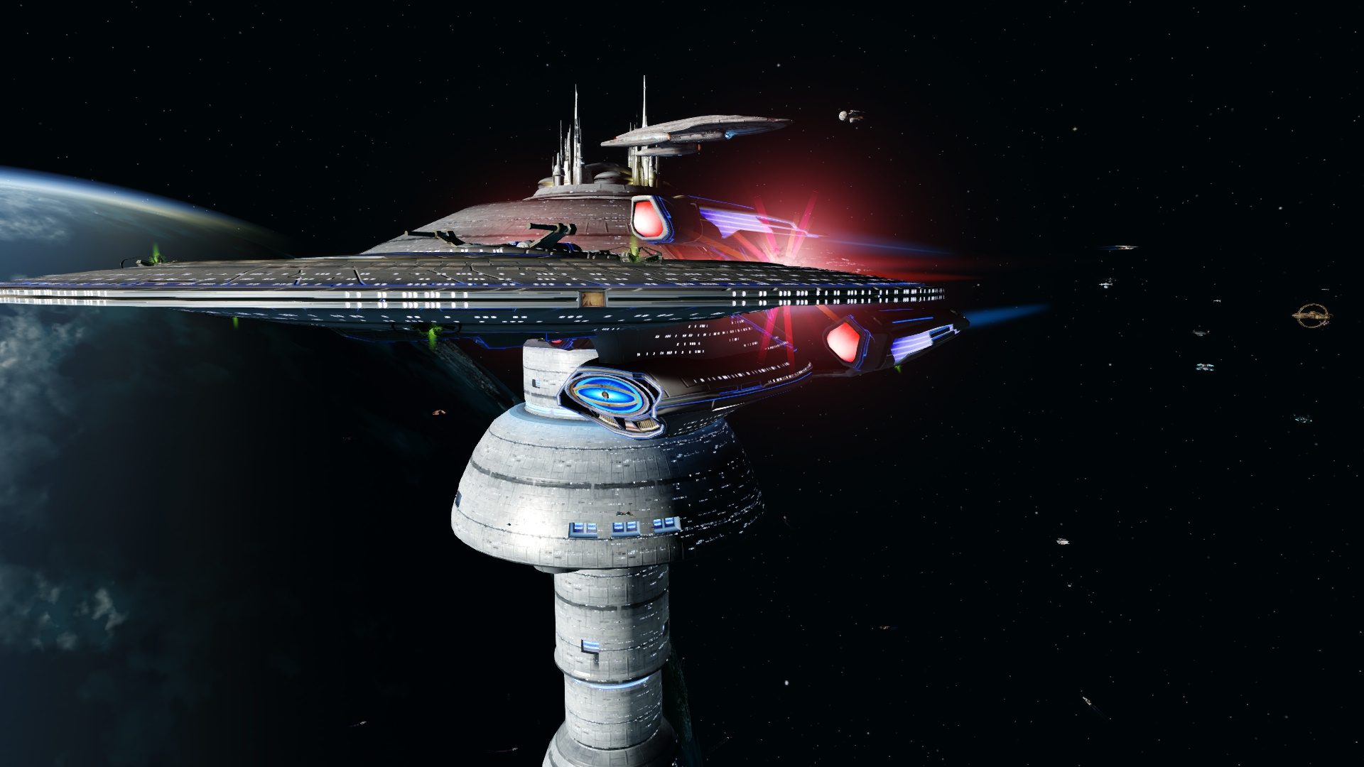 U.S.S. Iconia Outside ESD by jdciollins 12th Legacy Fleet
