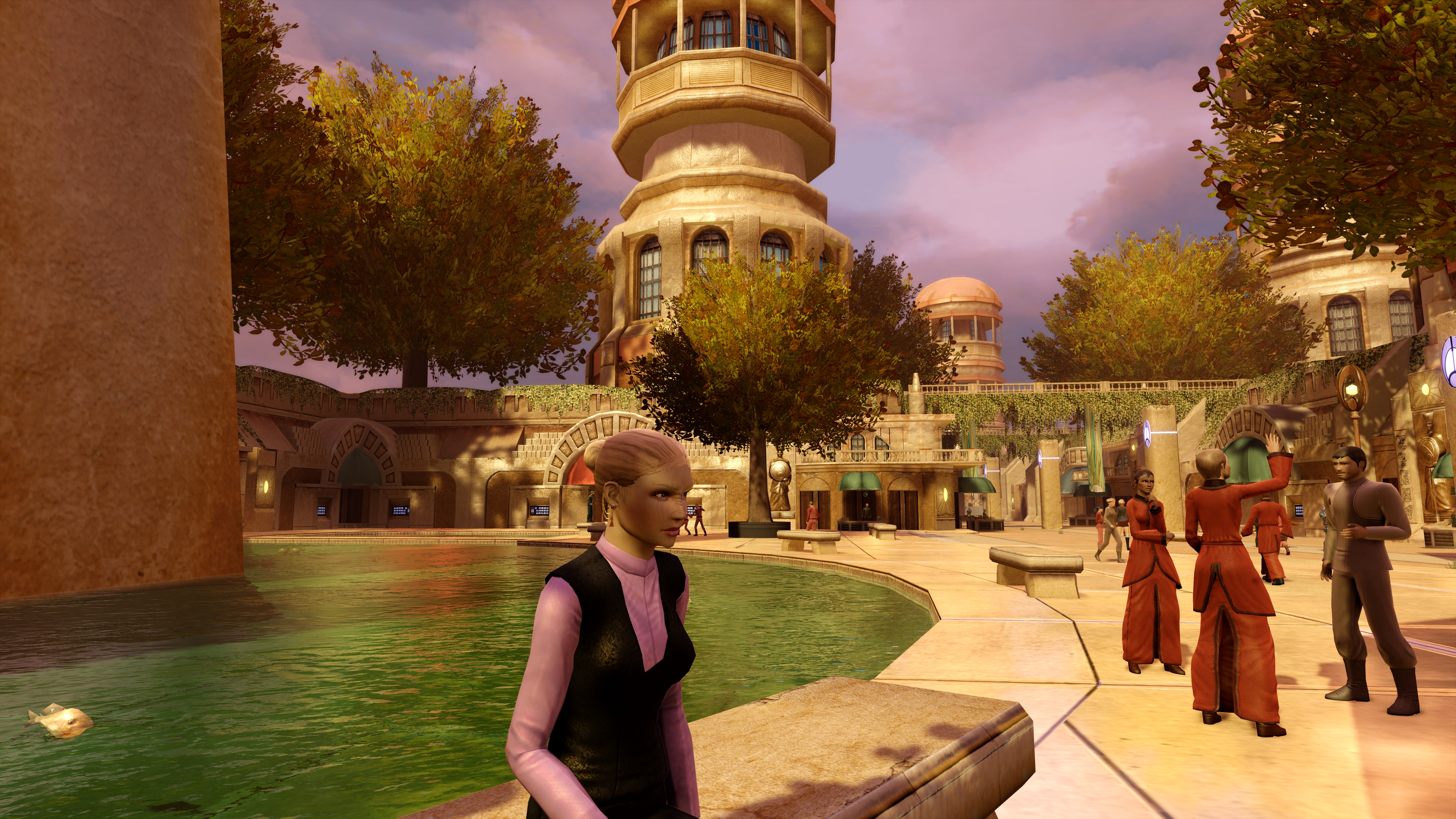 A pleasant afternoon on Bajor