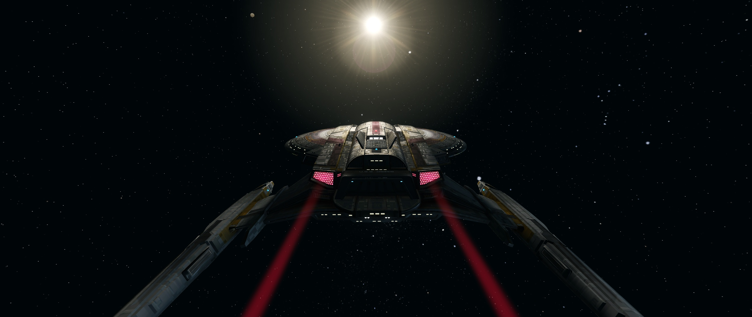 The USS Osiris explores the galaxy.