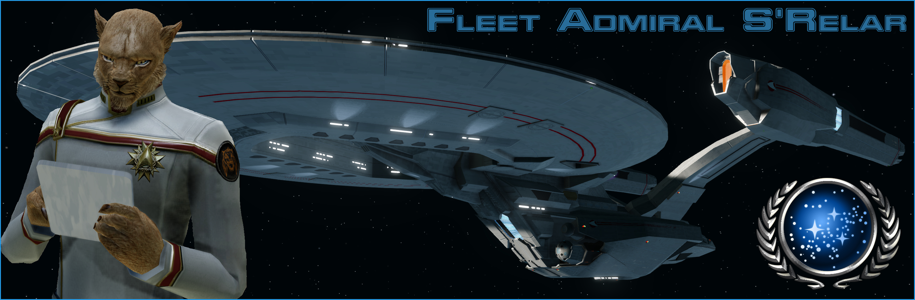 My first attempt at a banner signature for the STO forums.