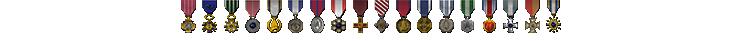 Bondgadget76 Medals